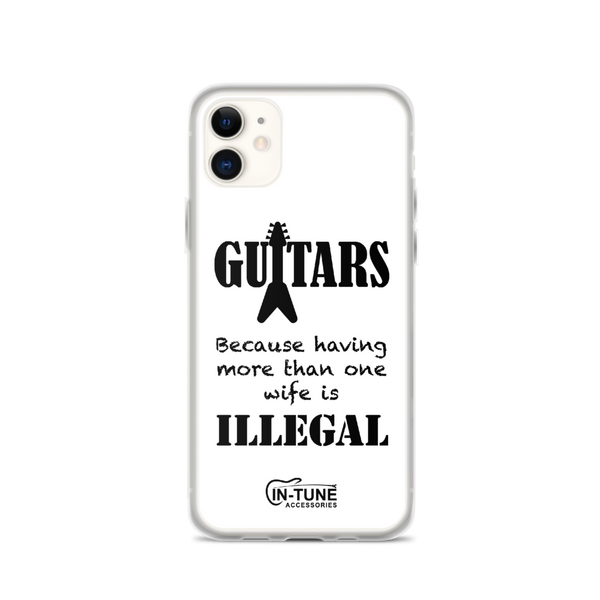 Guitars - iPhone Case - iPhone 11 - White