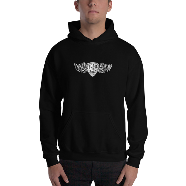 Born To Rock - Unisex Hoodie - Black