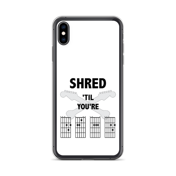 Shred 'Til You're Dead - iPhone Case - White