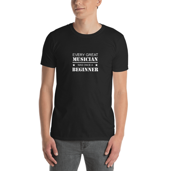Every Great Musician - Unisex T-Shirt - Black