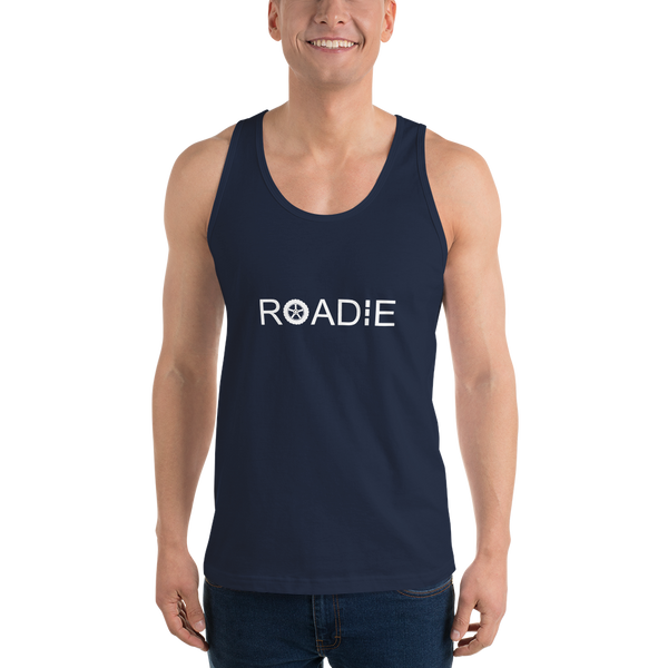 Roadie - Unisex Tank Top - Made in USA - Navy