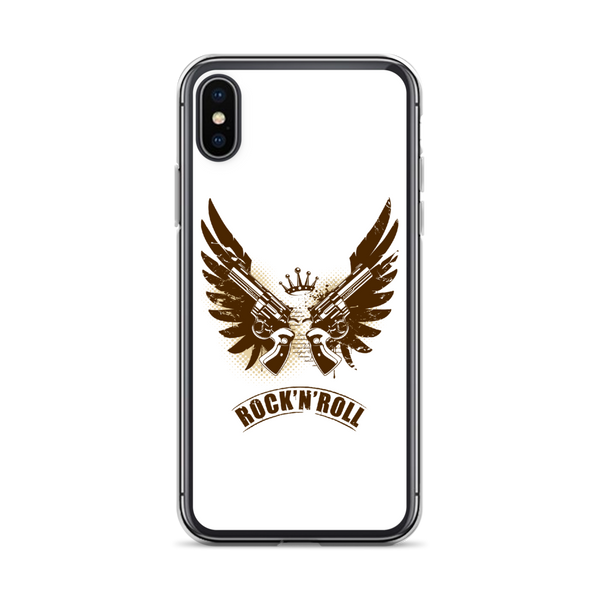 Rock N Roll - iPhone Case - iPhone XS - White
