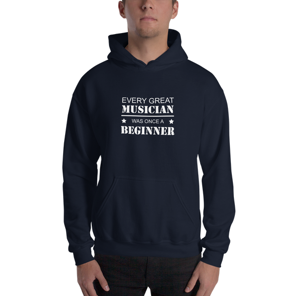 Every Great Musician - Unisex Hoodie - Navy
