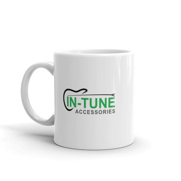 In-Tune Accessories - Ceramic Mug - 11oz - Left Handed