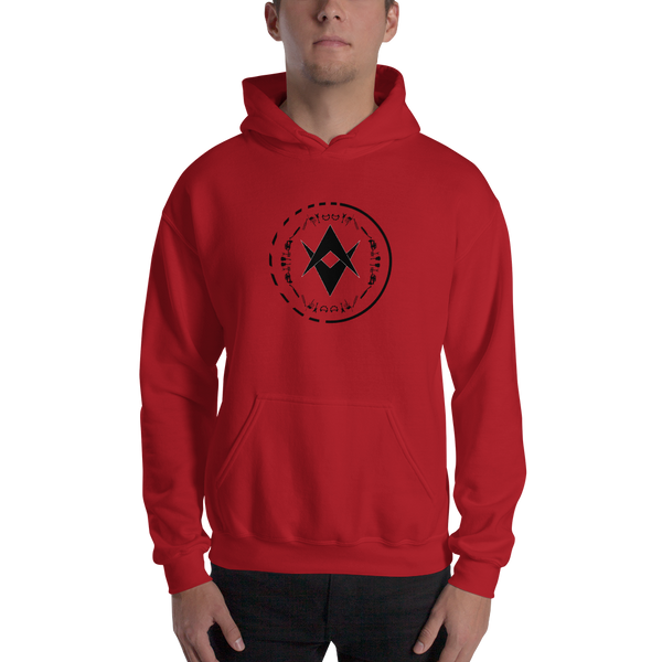 Optic Sounds - Unisex Hoodie - Red