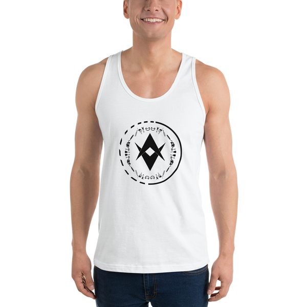 Optic Sounds - Unisex Tank Top - Made in USA - White