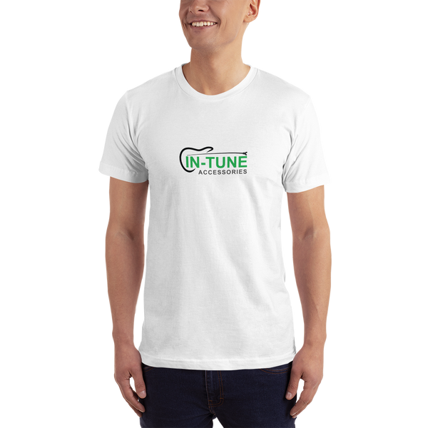 In-Tune Accessories - Unisex T-Shirt - Made in USA - White
