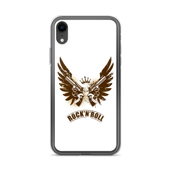 Rock N Roll - iPhone Case - iPhone XR - White
