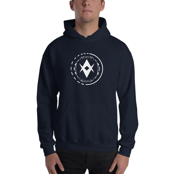Optic Sounds - Unisex Hoodie - Navy
