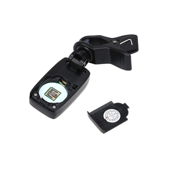 Chromatic Clip-On Tuner - Battery Compartment