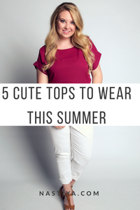 5 Cute Tops To Wear This Summer