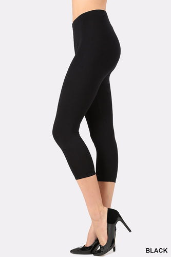 Irene Cotton Capri Leggins - Nastiya