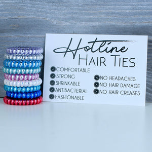 Hotline Lavender Crush Hair Tie Set - Nastiya