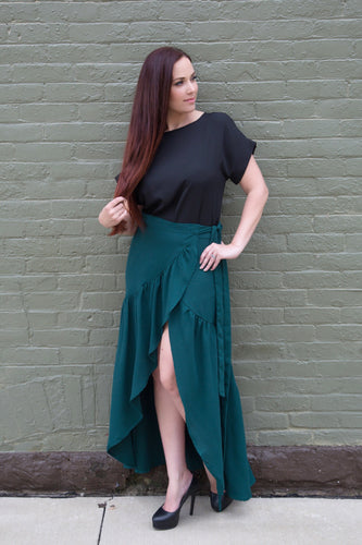 The Jada Maxi Skirt - Nastiya