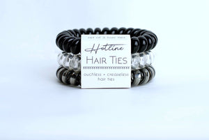 Hotline Black Diamond Hair Tie Set - Nastiya