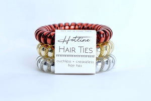Hotline Fire and Gold Hair Tie Set - Nastiya