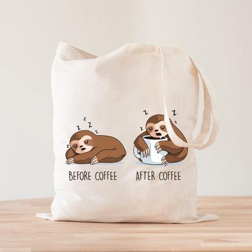 Coffee Perezozo Tote Bag