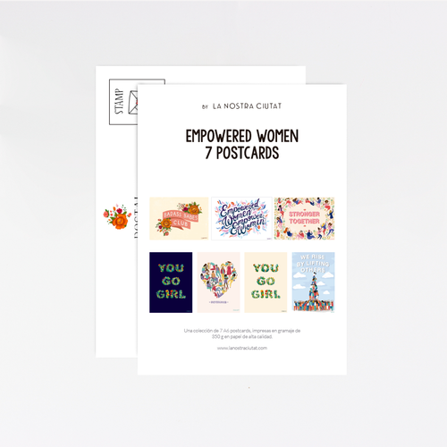Empowered Women Postcard Pack