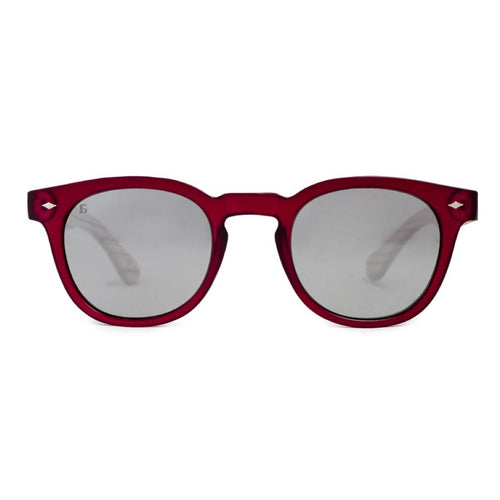 PE28 Oak Bourdeux Mirror Sunglasses