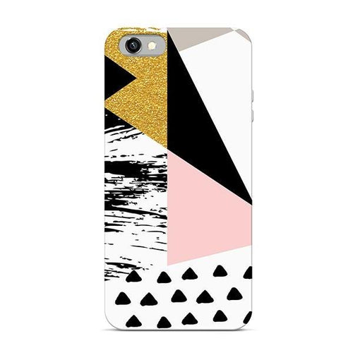Funda Geometric Patterns White 7/8