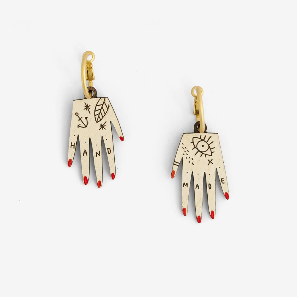 Hand Earrings