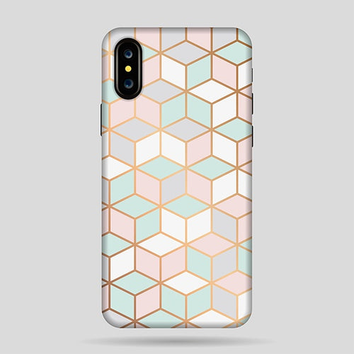 Funda Marble Hexagon X