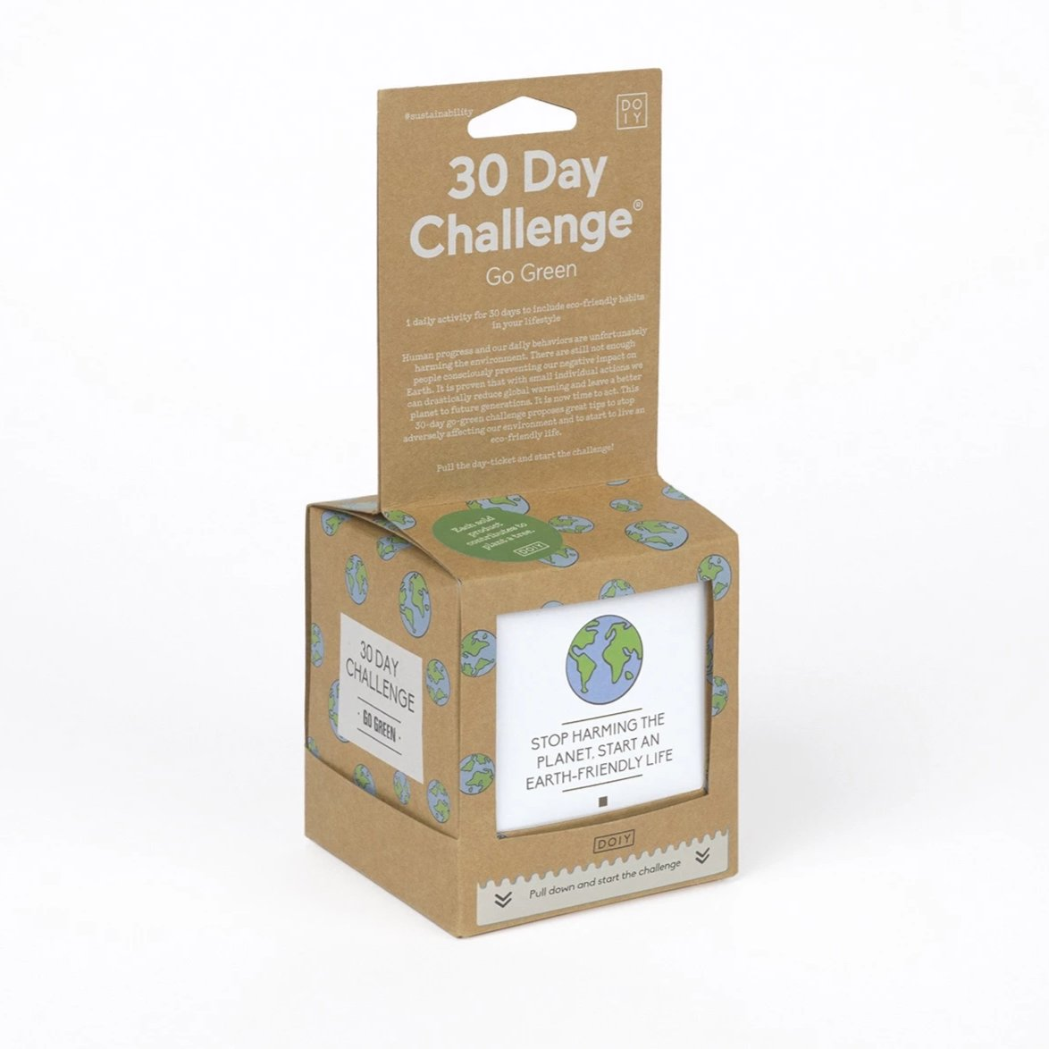 30 Day Go Green Challenge English