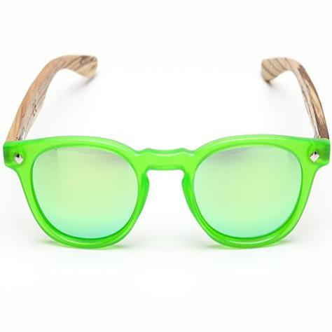 PE01 Ash Green Sunglasses