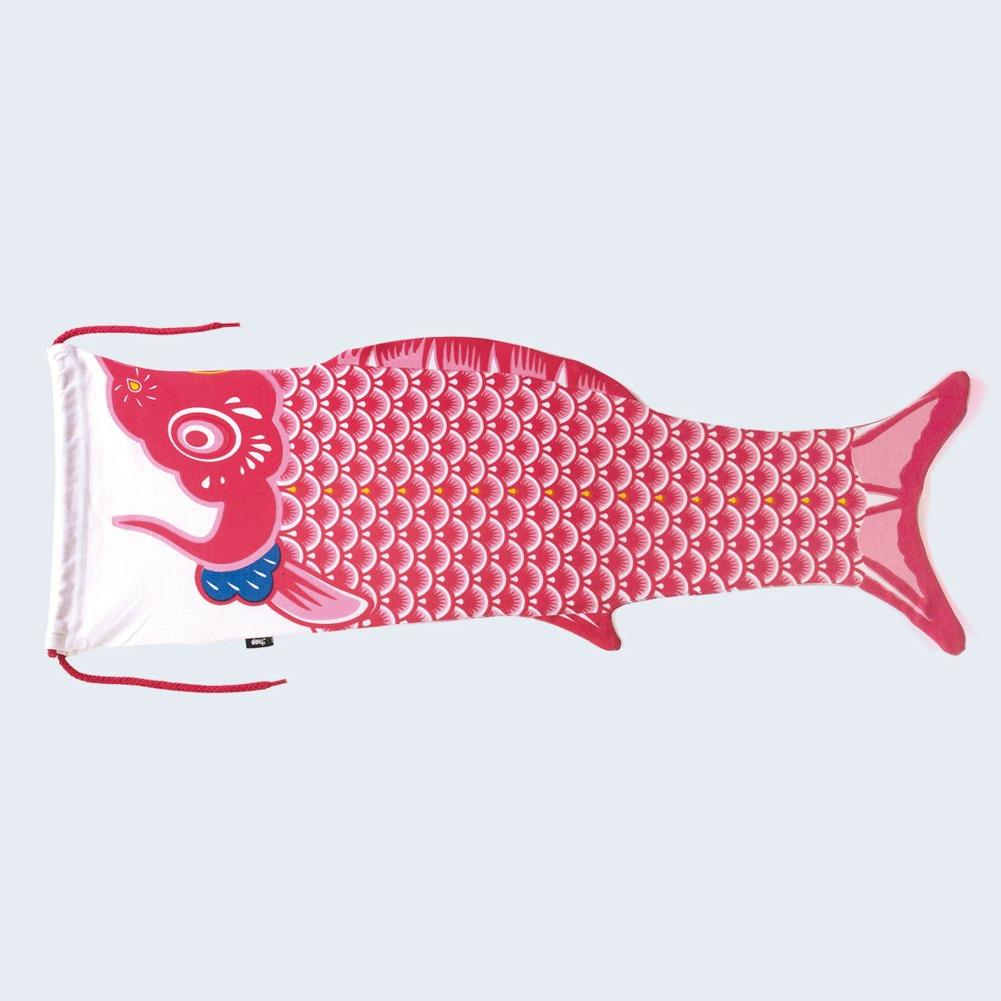 Koinobori Travel Laundry Bag Red