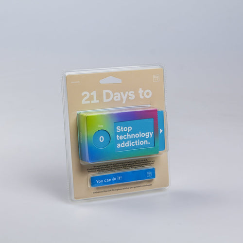 21 days to stop tech addiction ENG
