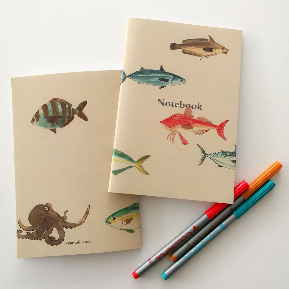 Fishes Notebook