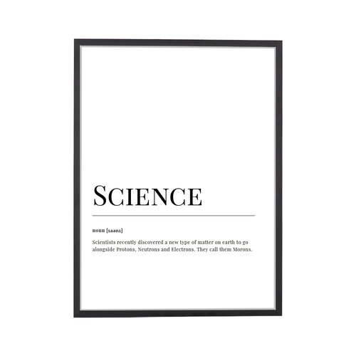 Science Dictionary Print