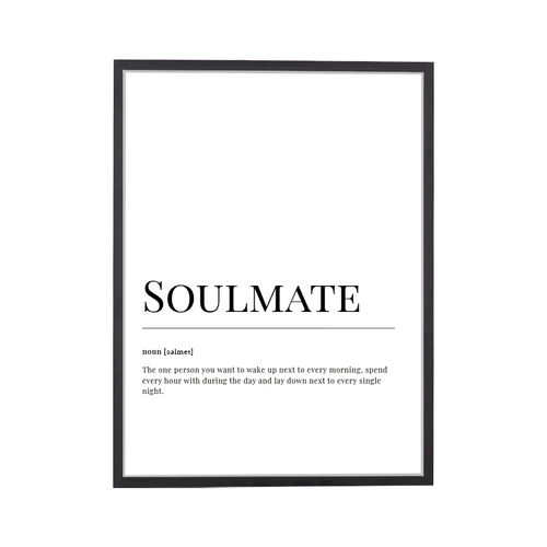 Soulmate Dictionary Art Print