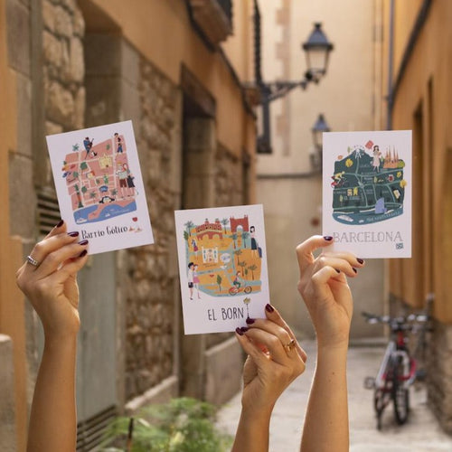 Barrio Maps Postcard Pack