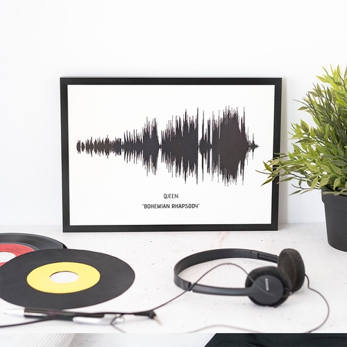 Personalised SongWave Print