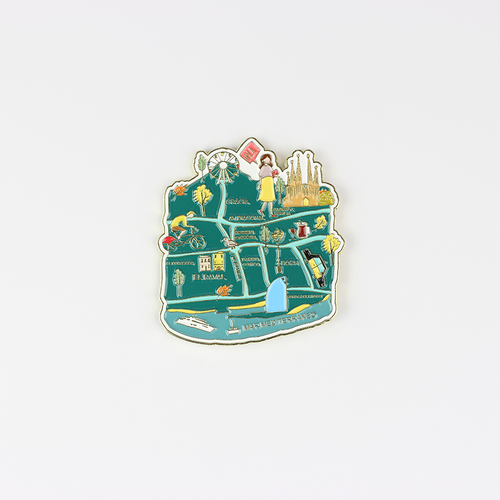 Barcelona Map Pin