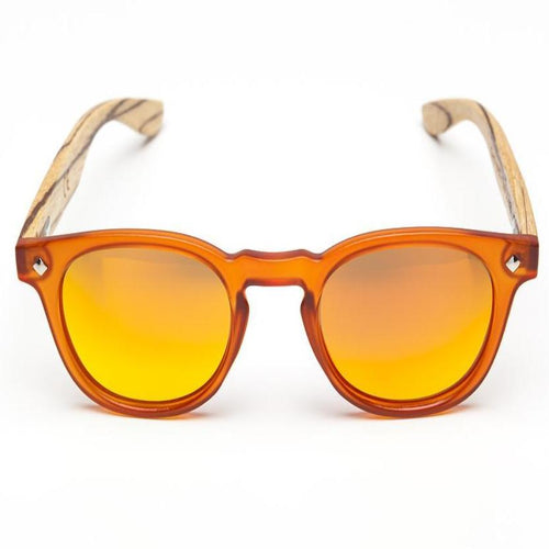 Ash Orange Sunglasses