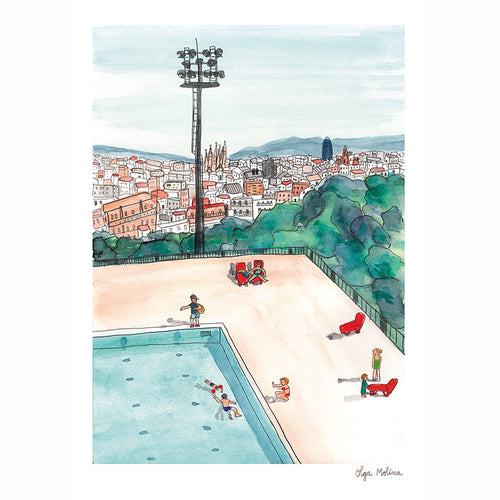Montjuic Swimming Pool