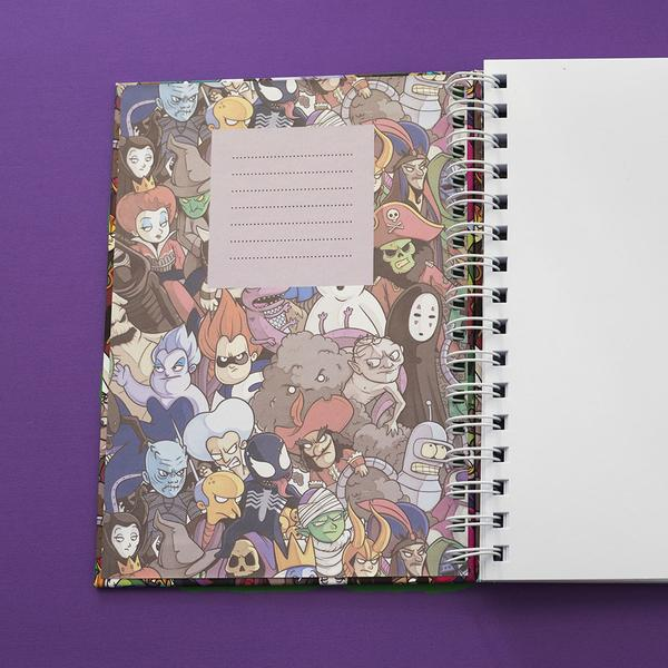 Villains Pattern Notebook