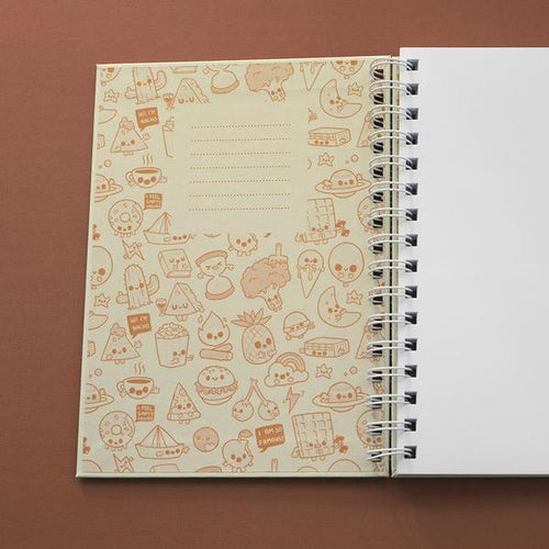 Asteroid Paper Scissors Notebook