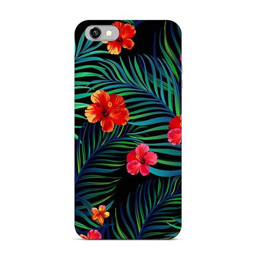 Funda Tropical Flor Roja I 7/8