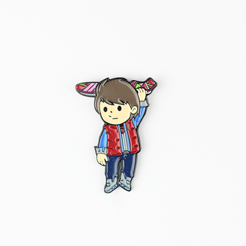 Marty mcfly Pin