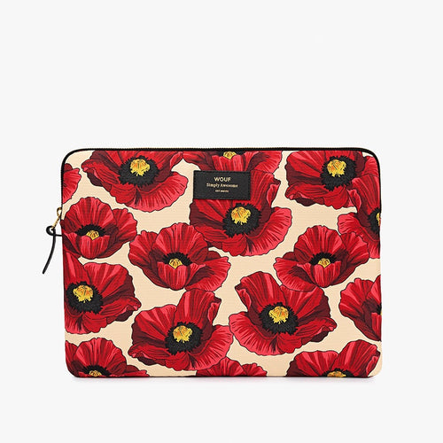 Laptop Sleeve Poppy 15 Inches