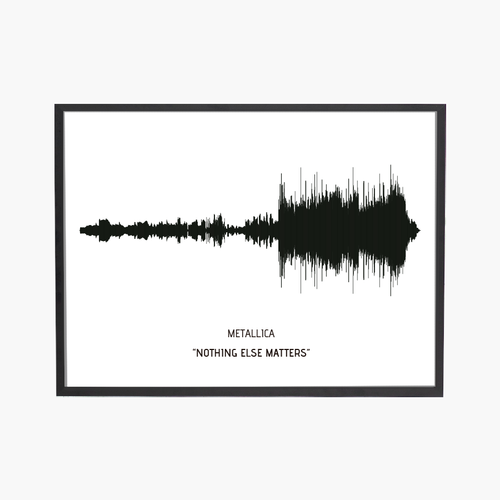 Song Wave Nothing Else Matters Art Print