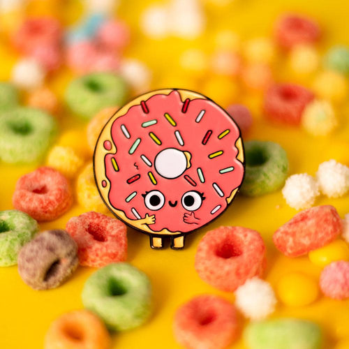After Makeup Donut Pin