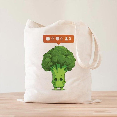 Nobody Loves Me Brocoli Tote Bag