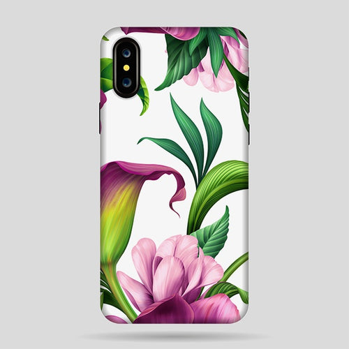 Funda Purple Flower I X