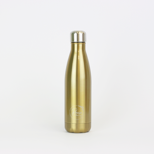 Stainless Steel Water Bottle Shiny Gold