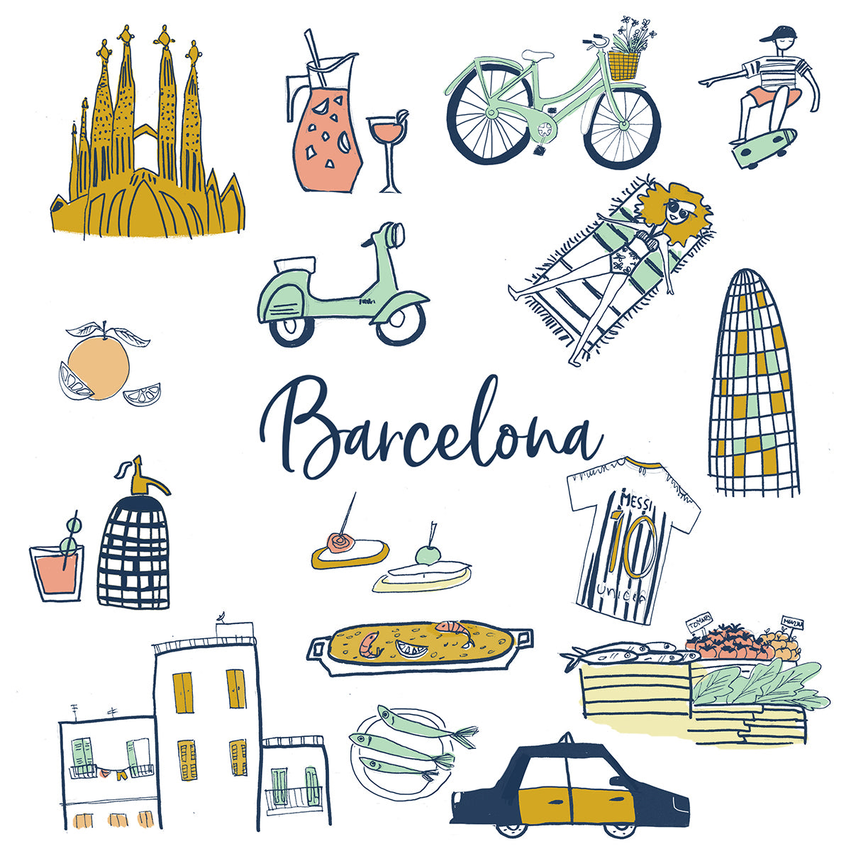 Barcelona Experience Tote Bag