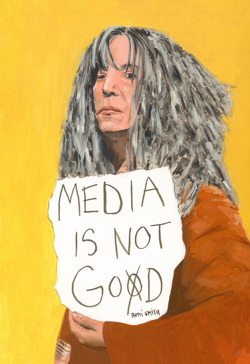 Patti Smith A4
